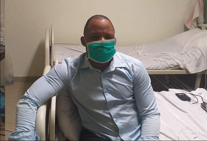 Boubacar Sanso BARRY à l'hôpital