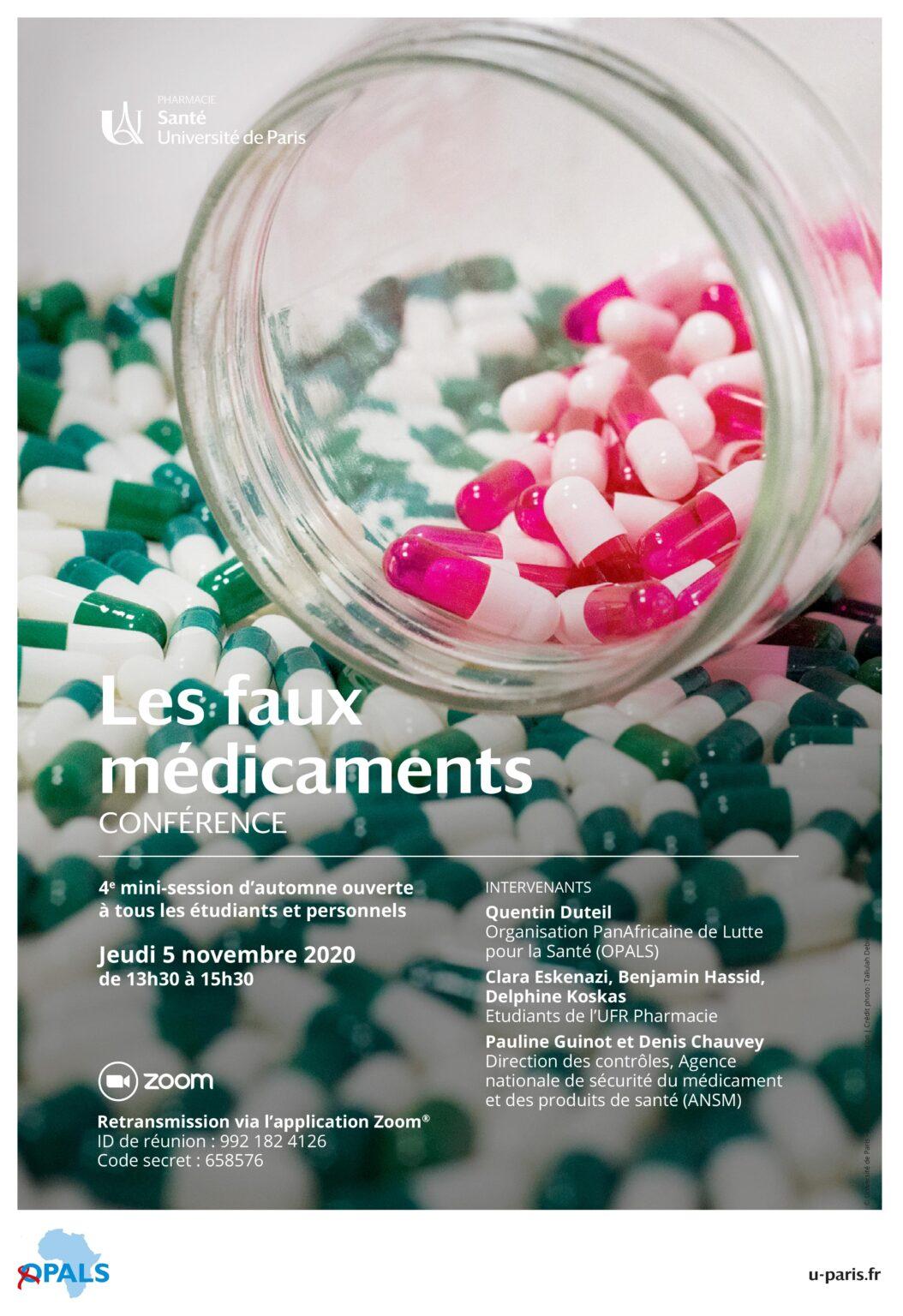 Affiche_Mini-session FAUX_MEDICAMENTS_2020